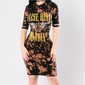 Small Better Be Raise Hell Darlin' Fitted Dress